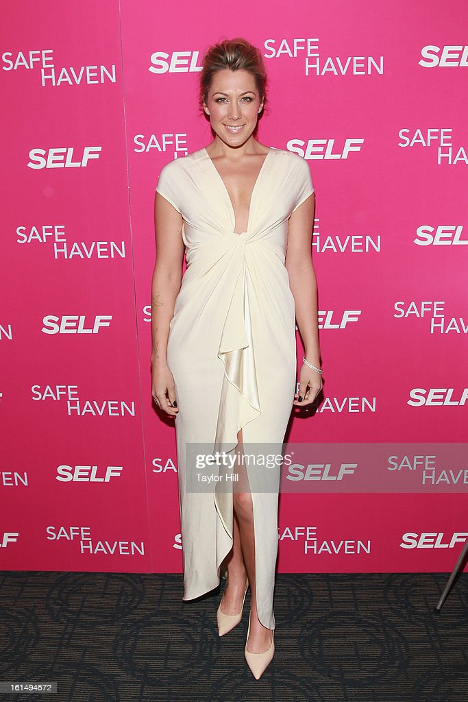 Singer Colbie Caillat attends a New York screening of 'Safe Haven' at Landmark Sunshine Cinema on February 11, 2013 in New York City.