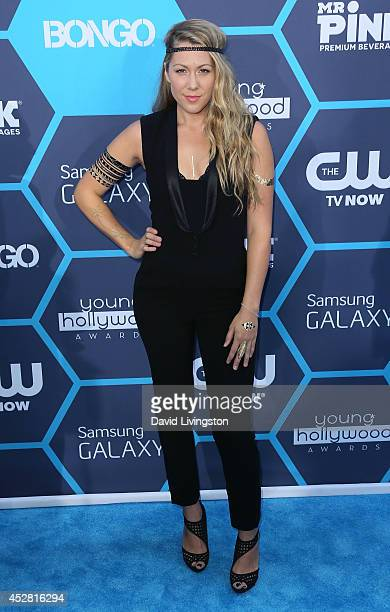 Singer Colbie Caillat attends the 16th Annual Young Hollywood Awards at The Wiltern on July 27 2014 in Los Angeles California