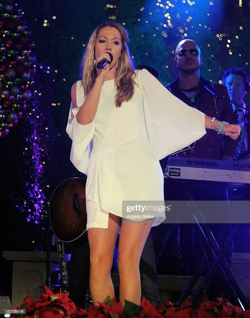 hollywood christmas celebration and tree lighting at the grove news photo - Colbie Caillat Christmas