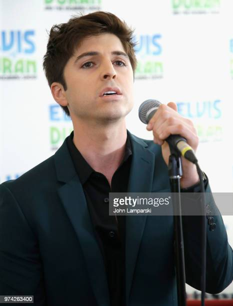 Singer Cole Redding performs during the 'The Elvis Duran Z100 Morning Show' at Z100 Studio on June 14 2018 in New York City