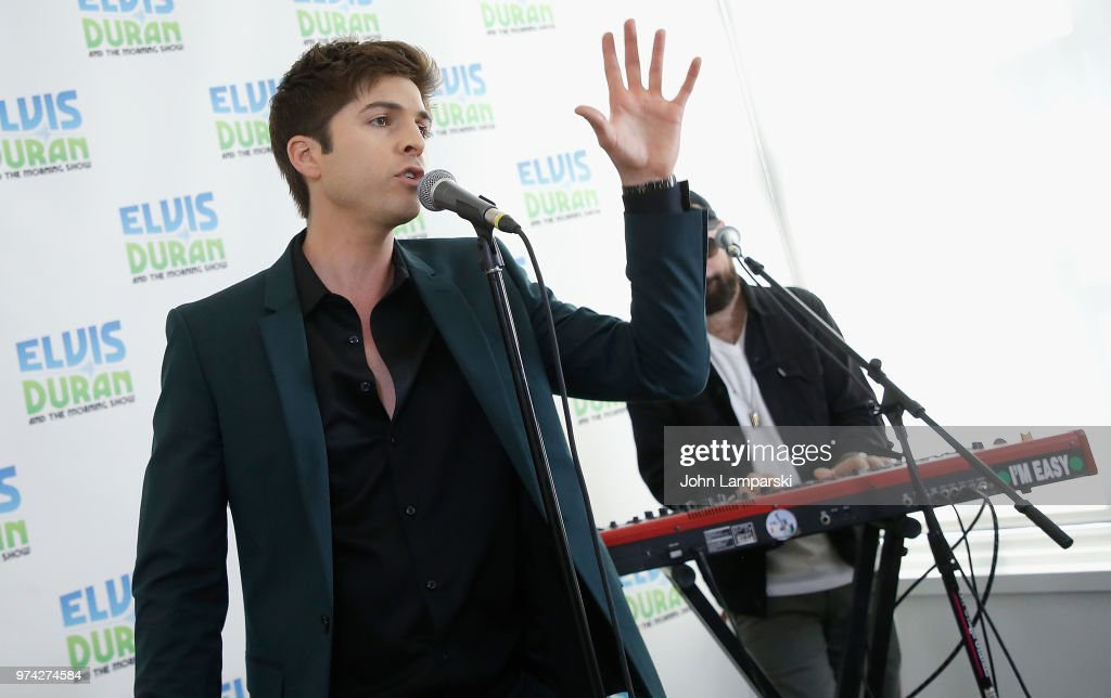 Singer Cole Redding performs during the 'The Elvis Duran Z100 Morning Show' at Z100 Studio on June 14, 2018 in New York City.