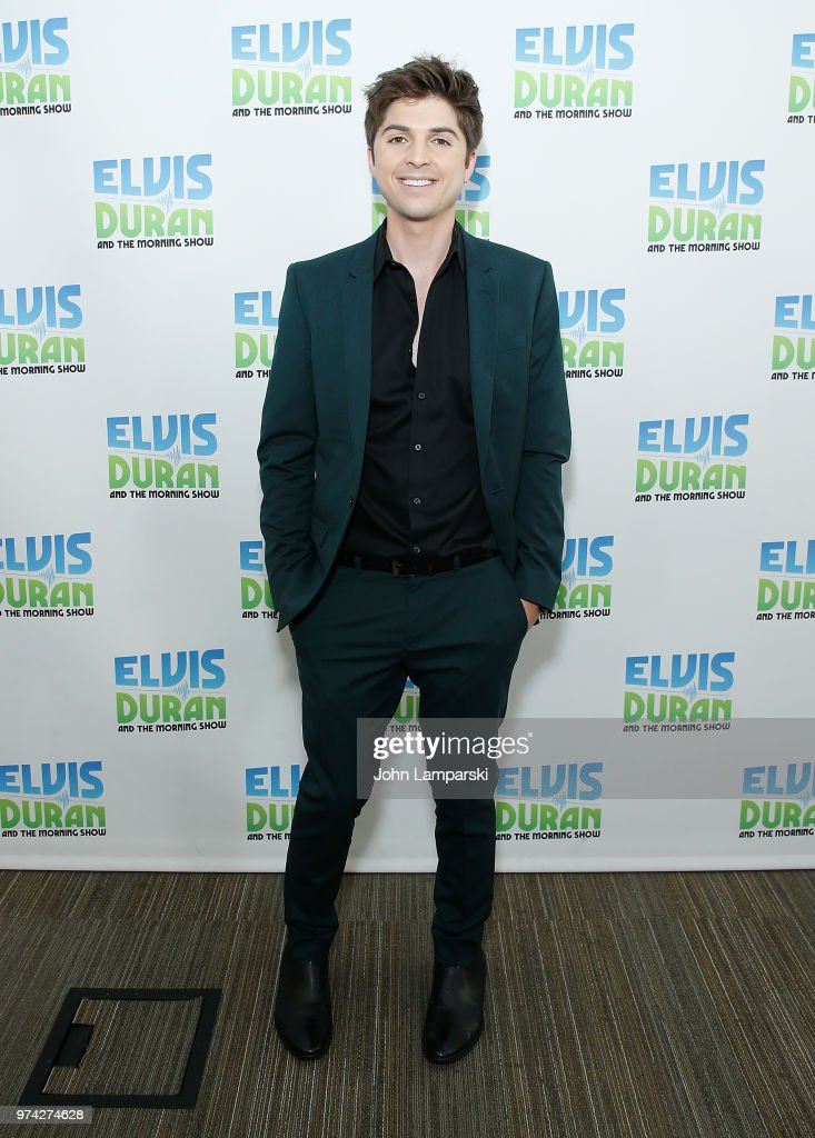 Singer Cole Redding visits 'The Elvis Duran Z100 Morning Show' at Z100 Studio on June 14, 2018 in New York City.