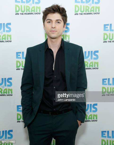 Singer Cole Redding visits 'The Elvis Duran Z100 Morning Show' at Z100 Studio on June 14 2018 in New York City