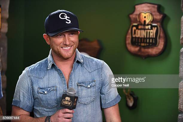 Singer Cole Swindell attends the 2016 iHeartCountry Festival at The Frank Erwin Center on April 30 2016 in Austin Texas