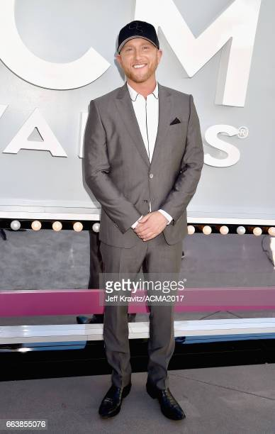 Singer Cole Swindell attends the 52nd Academy Of Country Music Awards at Toshiba Plaza on April 2 2017 in Las Vegas Nevada