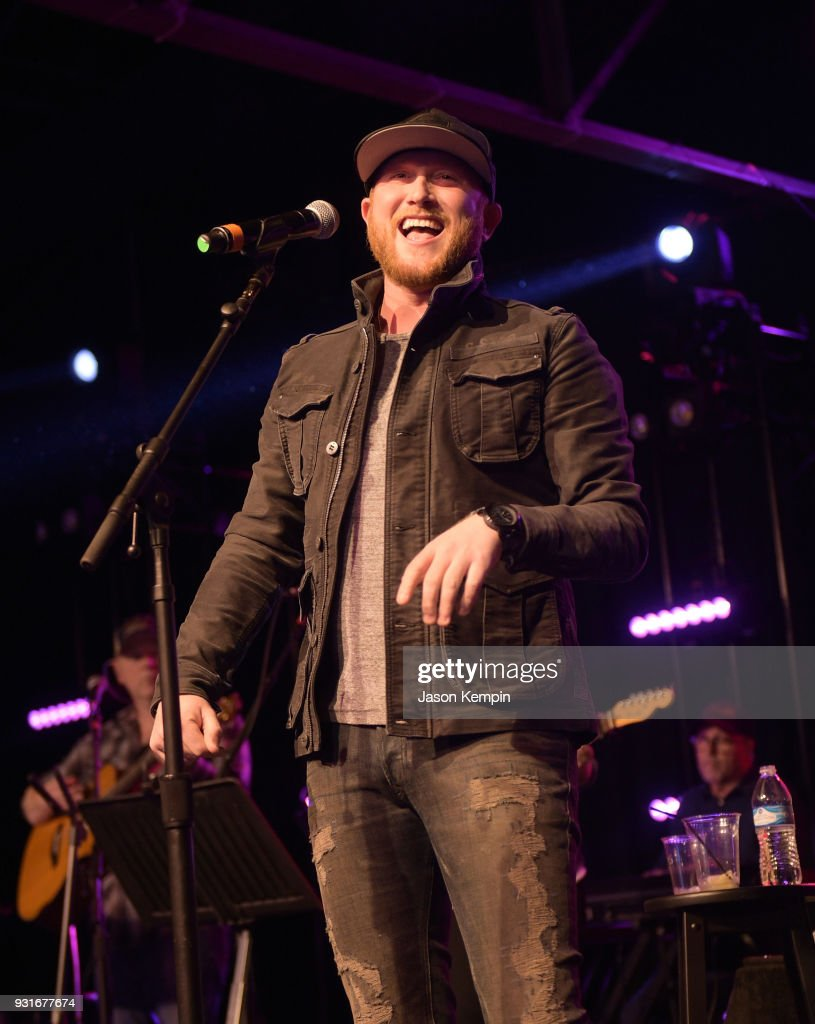 Singer Cole Swindell performs at Marathon Music Works on March 13, 2018 in Nashville, Tennessee.
