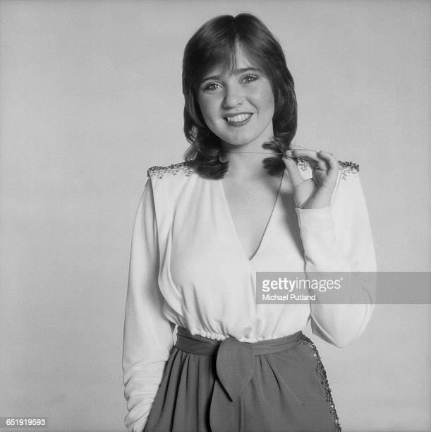 Singer Coleen Nolan of AngloIrish vocal group The Nolans London December 1980