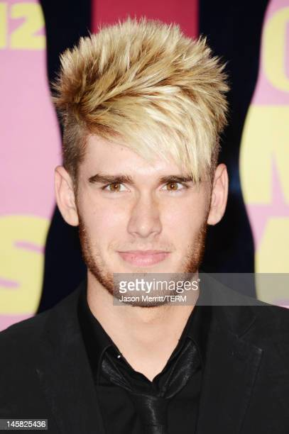 Singer Colton Dixon arrives at the 2012 CMT Music awards at the Bridgestone Arena on June 6 2012 in Nashville Tennessee
