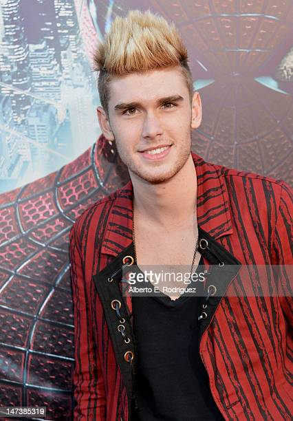 Singer Colton Dixon arrives at the premiere of Columbia Pictures' The Amazing SpiderMan at the Regency Village Theatre on June 28 2012 in Westwood...