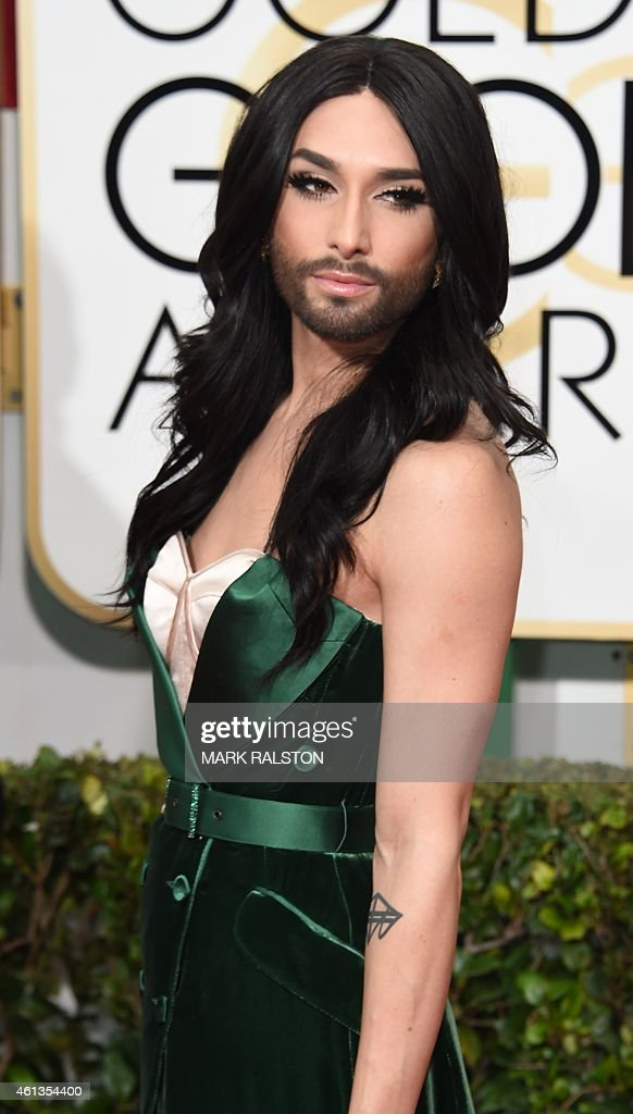 US-ENTERTAINMENT-GOLDEN-GLOBE-ARRIVALS : News Photo