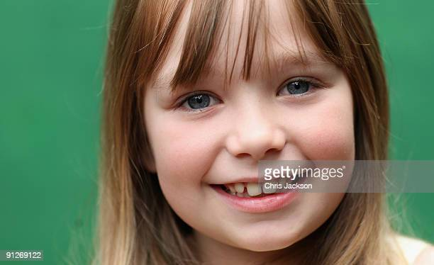 Singer Connie Talbot poses for a portrait as she takes part in a photoshoot at London Zoo on June 25 2009 in London England