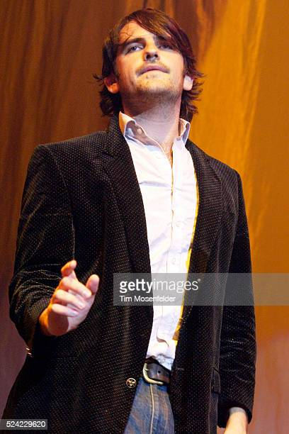 Singer Conor Deasy and The Thrills perform in support of the Honda Civic Tour 2005 at the HP Pavilion in San Jose