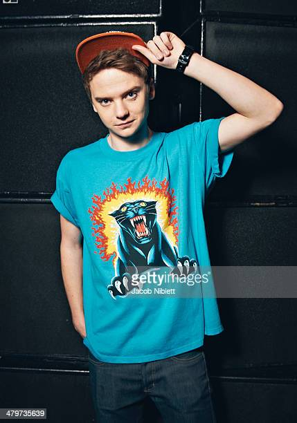 Singer Conor Maynard is photographed on April 25 2012 in London England