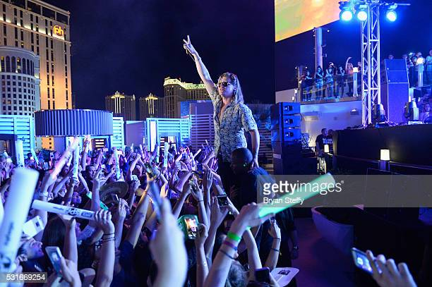 Singer Conrad Sewell performs onstage during CBS RADIO's SPF at The Boulevard Pool at The Cosmopolitan of Las Vegas on May 15 2016 in Las Vegas Nevada
