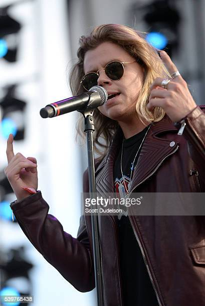 Singer Conrad Sewell performs onstage during LA Pride on June 12 2016 in West Hollywood California