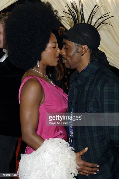 Singer Coolio and wife Josefa Salinas attend The London Party hosted by United International Pictures and Variety on the eve of Orange British...