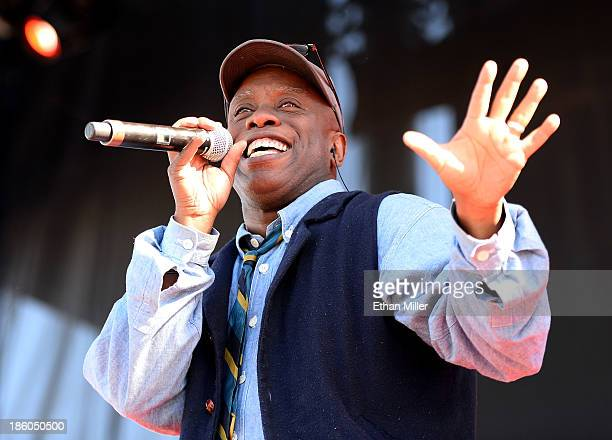 Singer Corey Glover of Living Colour performs during the Life is Beautiful festival on October 27 2013 in Las Vegas Nevada