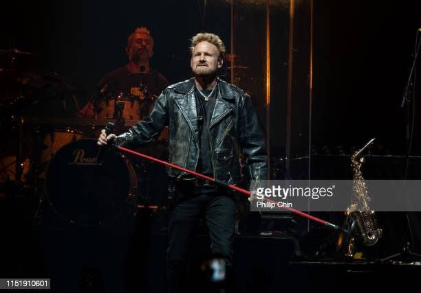 """Singer Corey Hart performs during """"The Never Surrender Tour 2019"""" at Rogers Arena on June 25, 2019 in Vancouver, Canada."""