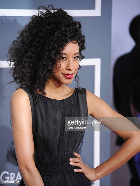 Singer Corinne Bailey Rae arrives at 54th Annual GRAMMY Awards held the at Staples Center on February 12, 2012 in Los Angeles, California.