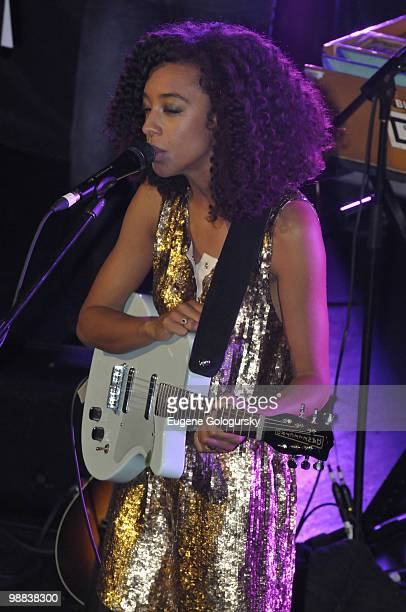 Singer Corinne Bailey Rae performs in concert at Webster Hall on May 3, 2010 in New York City.
