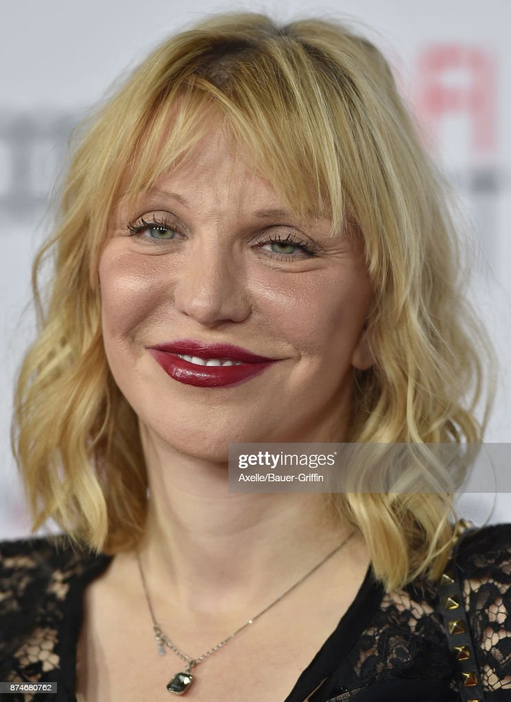 Singer Courtney Love arrives at the AFI FEST 2017 presented by Audi - screening of 'The Disaster Artist' at TCL Chinese Theatre on November 12, 2017 in Hollywood, California.