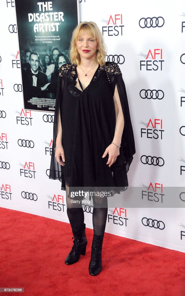 Singer Courtney Love attends AFI FEST 2017 Presented By Audi - Screening Of 'The Disaster Artist' at TCL Chinese Theatre on November 12, 2017 in Hollywood, California.