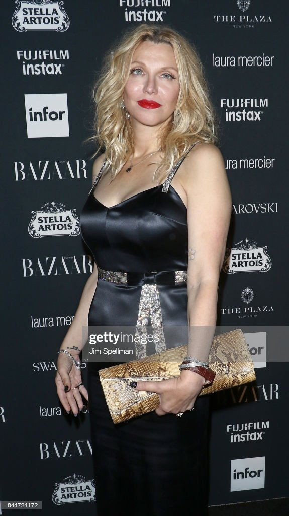 Singer Courtney Love attends the 2017 Harper's Bazaar Icons at The Plaza Hotel on September 8, 2017 in New York City.