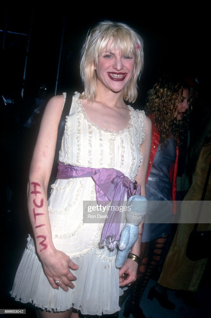 Singer Courtney Love Attends The Drug Abuse Resistance Education
