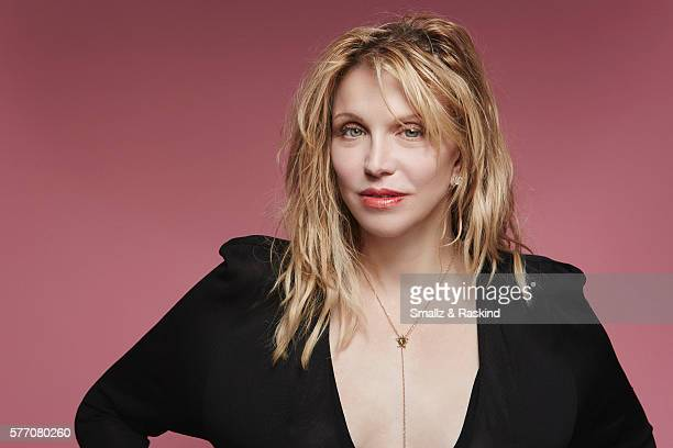 Singer Courtney Love is photographed at the 2016 BeautyCon Conference on July 9 2016 in Los Angeles California
