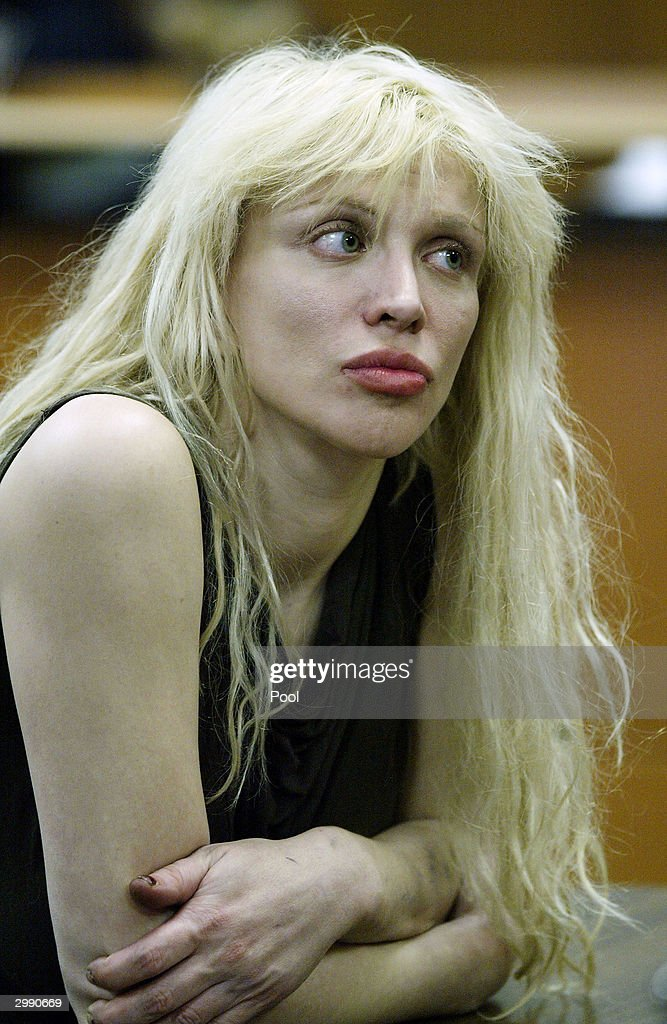 Courtney Love Faces Drug Charges In Court : News Photo