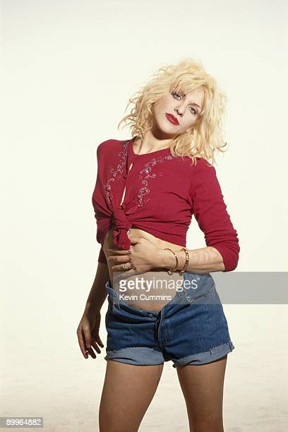 Singer Courtney Love of American rock group Hole circa 1994