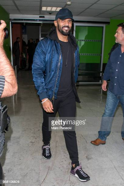 Singer Craig David is seen during the 71st annual Cannes Film Festival at Nice Airport on May 13 2018 in Nice France