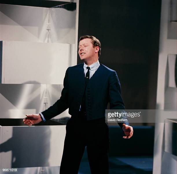 Singer Craig Douglas performs on a television show in 1963