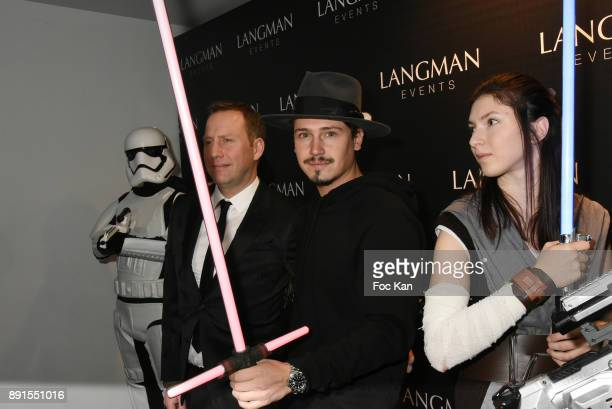 Singer Cris Cab attends the Star Wars Party at Le Saint Fiacre on December 12 2017 in Paris France