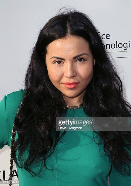 Singer Cristina Lizzul attends the 2016 Stand for Kids Annual Gala benefiting the Orthopedic Institute for Children at the Twentieth Century Fox...