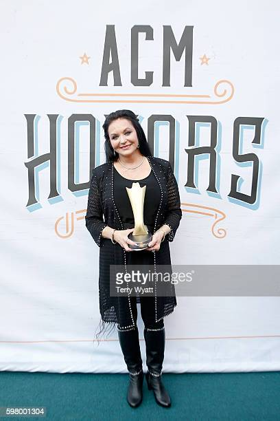 Singer Crystal Gayle attends the 10th Annual ACM Honors at the Ryman Auditorium on August 30 2016 in Nashville Tennessee