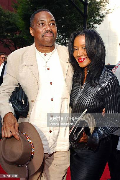 Singer Cuba Gooding of The Main Ingredient with his wife Shirley