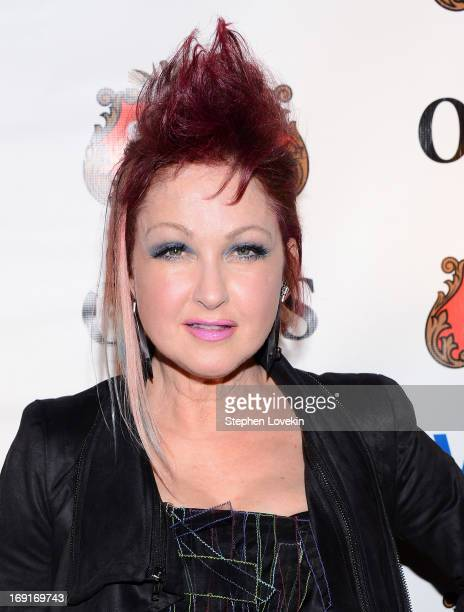 Singer Cyndi Lauper attends The 2013 Obie Awards at Webster Hall on May 20, 2013 in New York City.