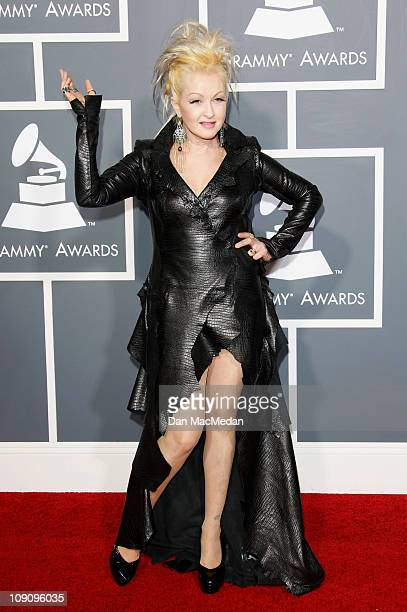 Singer Cyndi Lauper attends The 53rd Annual GRAMMY Awards at Staples Center on February 13, 2011 in Los Angeles, California.