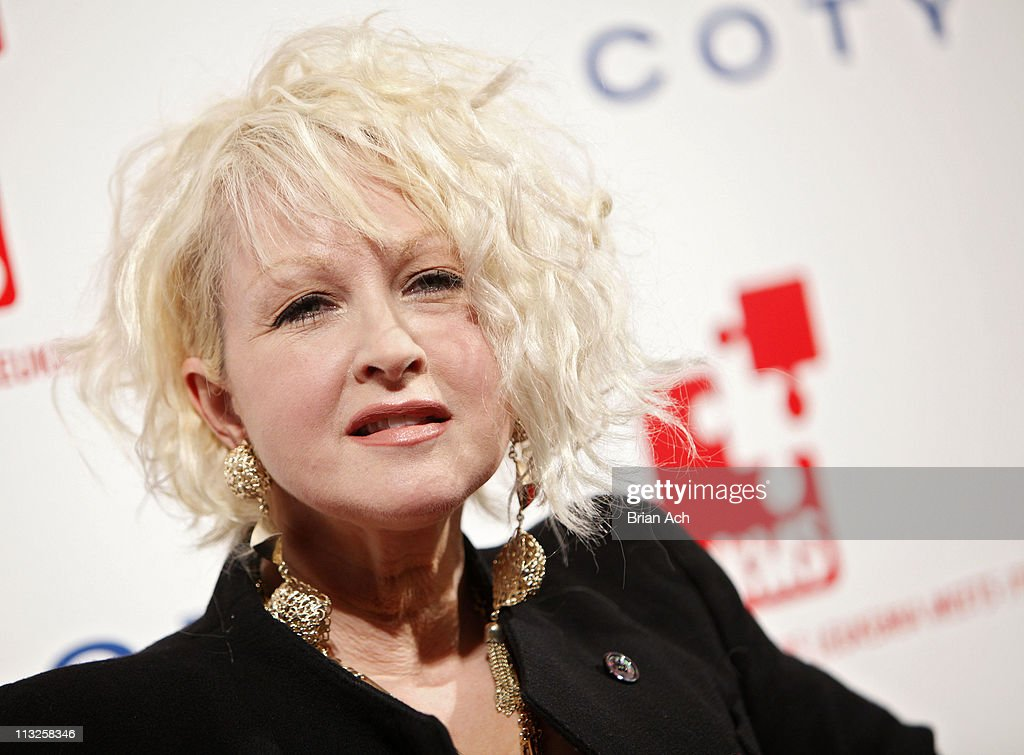 Singer Cyndi Lauper attends the 5th annual DKMS Gala at Cipriani Wall Street on April 28, 2011 in New York City.