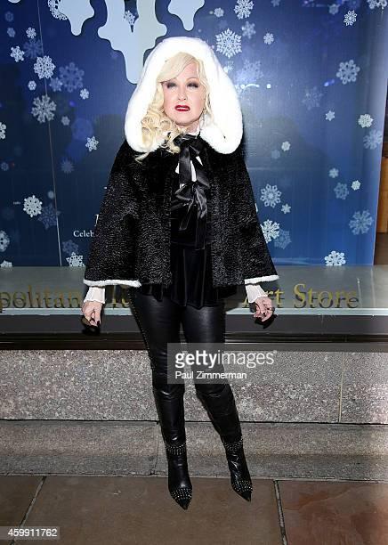 Singer Cyndi Lauper attends the 82nd Annual Rockefeller Center Christmas Tree Lighting on December 3 2014 in New York City