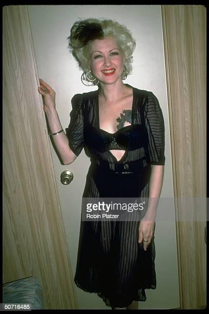 Singer Cyndi Lauper
