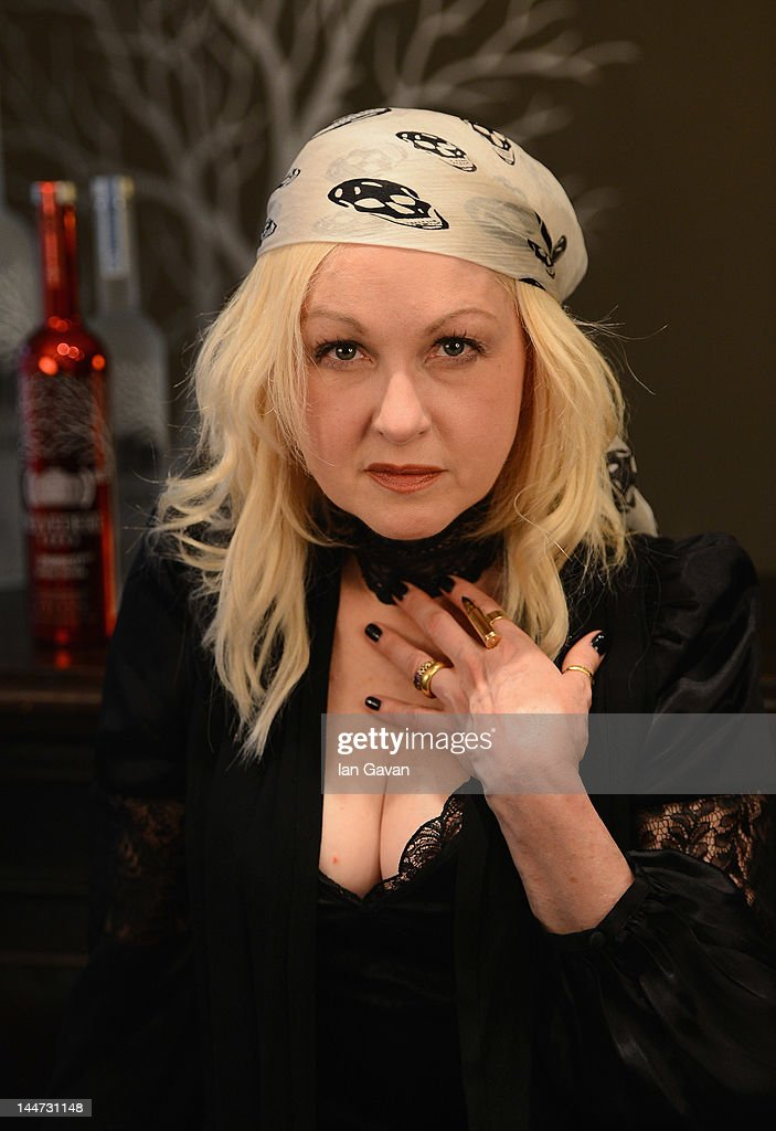 The RED Party In Cannes Featuring Cyndi Lauper - Interviews & Seminar