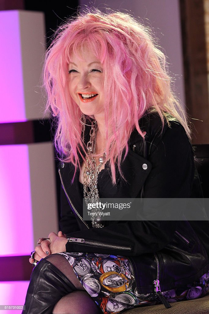 Cyndi Lauper Press Conference