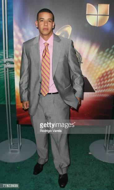 Singer Daddy Yankee arrives at the 8th Annual Latin GRAMMY Awards at Mandalay Bay on November 8, 2007 in Las Vegas, Nevada.