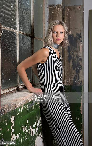 Singer Dagny aka Dagny Norvoll Sandvik is photographed for the Guardian on August 31 2016 in London England