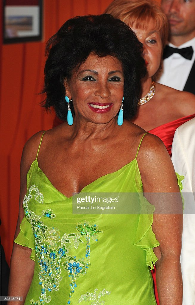 Singer Dame Shirley Bassey attends the 61st Monaco Red Cross Ball at the Monte Carlo Sporting Club on July 31, 2009 in Monte Carlo, Monaco.