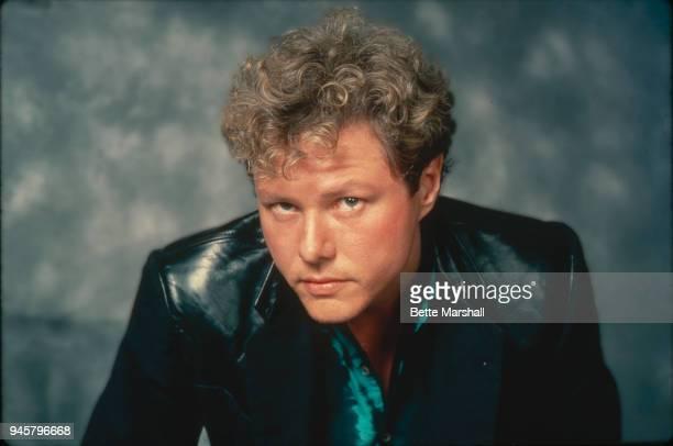 Singer Dan Hartman poses for a portrait circa 1984 in New York City
