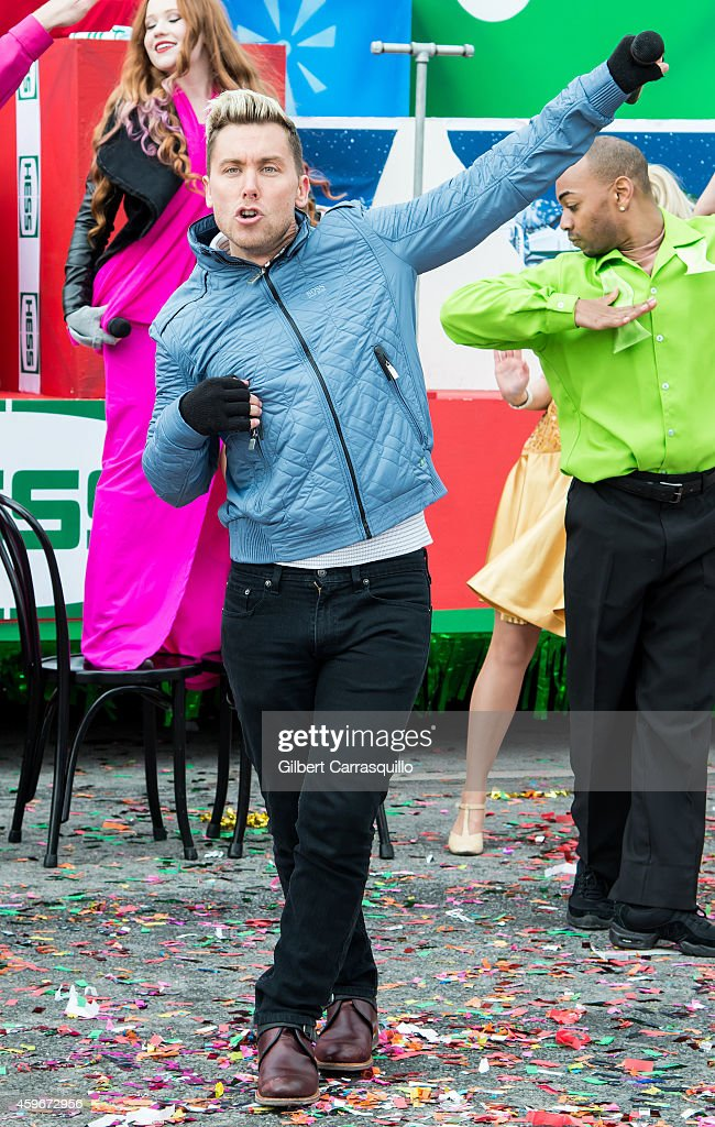 Singer, dancer, actor, film and television producer, author Lance Bass attends the 95th Annual 6abc Dunkin' Donuts Thanksgiving Day Parade on November 27, 2014 in Philadelphia, Pennsylvania.