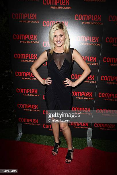 Singer / dancer Ashley Roberts arrives at the 2009 Complex Premium Goods Event at MyHouse Nightclub on December 9 2009 in Hollywood California